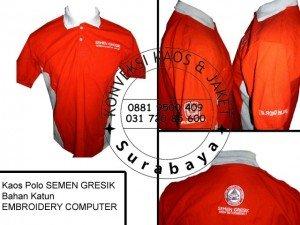 Produksi Kaos Polo di Surabaya