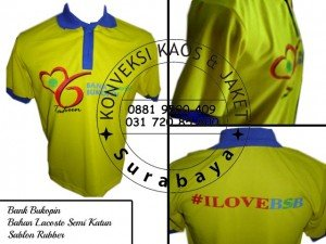 Supplier Kaos Polo di Surabaya