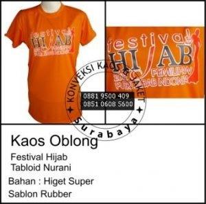 Pesan Kaos Oblong, Konveksi Surabaya