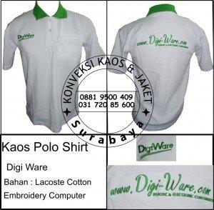 Kaos Polo Shirt Digi Ware