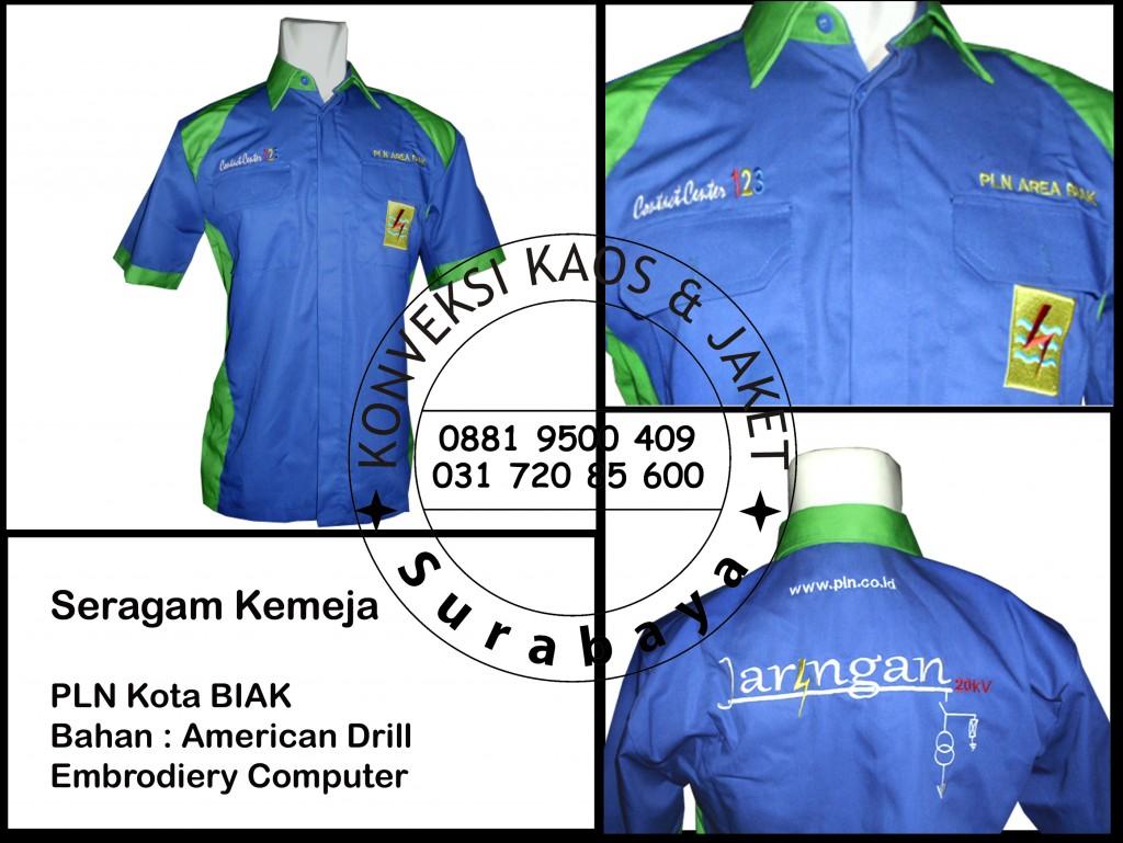 Distributor Grosir Kemeja Kerja Murah di Surabaya