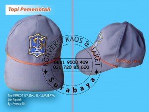 Pesan Topi di Surabaya