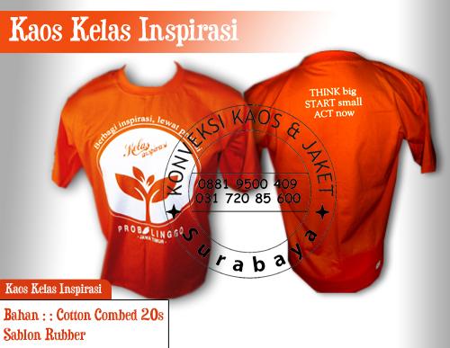 Vendor Kaos Promosi Sablon Murah di Surabaya