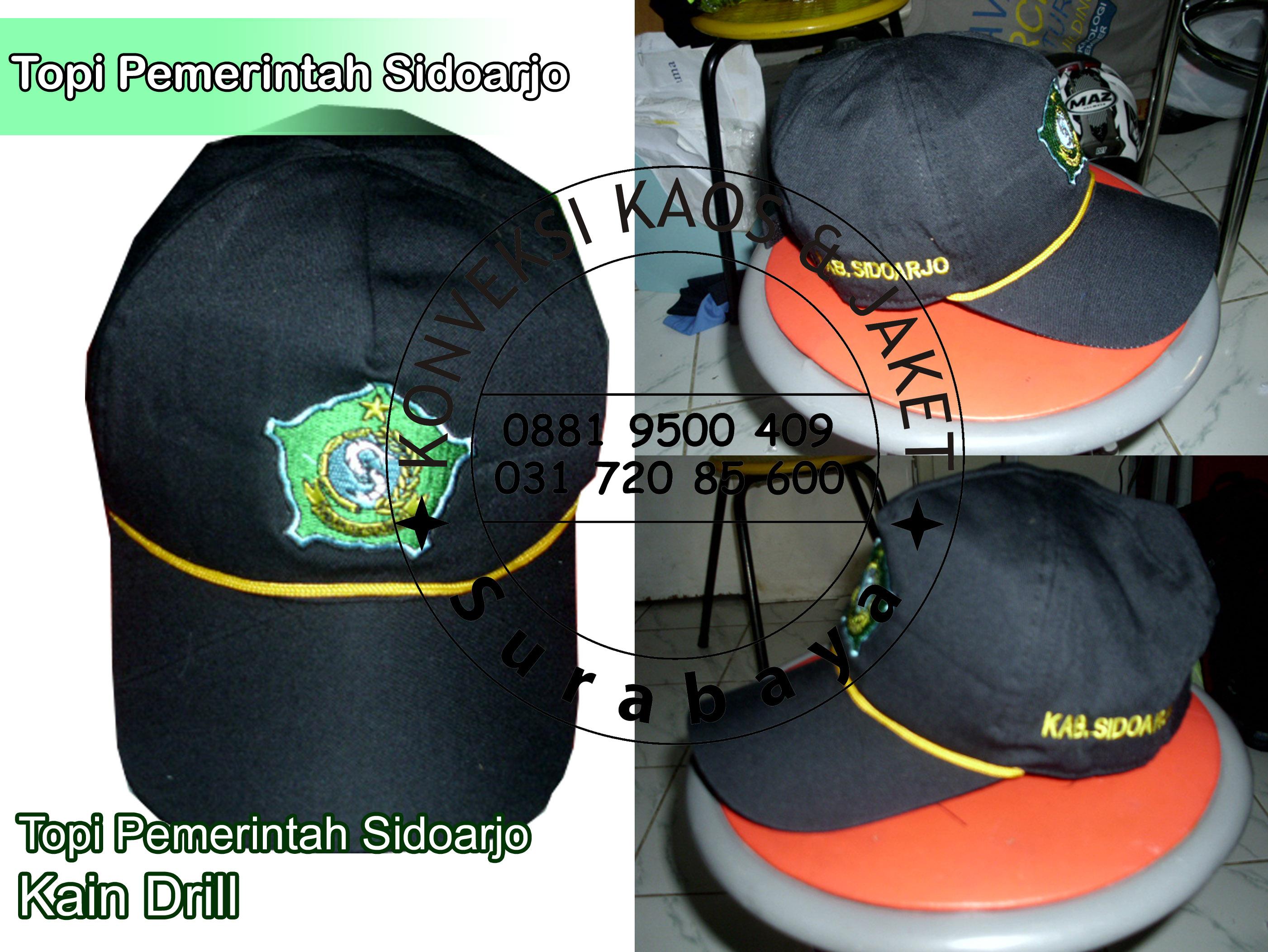 Topi Model Keren Desain Sendiri Produksi Promosi Di Surabaya