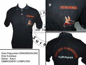 Grosir Kaos Komunitas di Surabaya