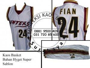 Pesan Kaos Basket di Surabaya