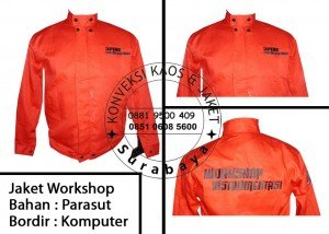 Bikin Jaket Workshop Murah