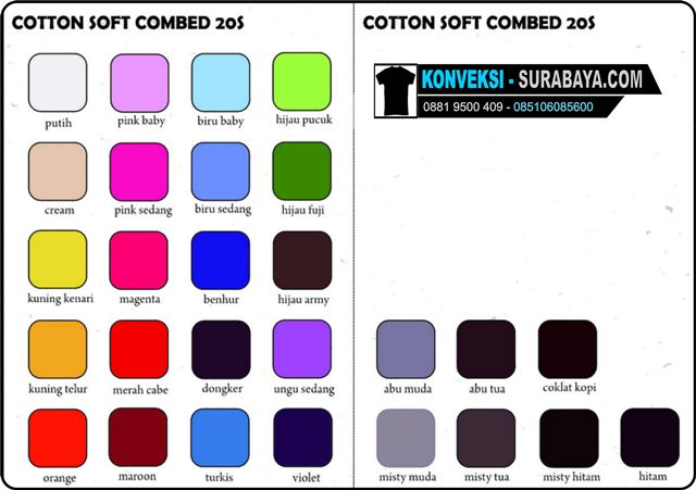 cotton soft combed 20s