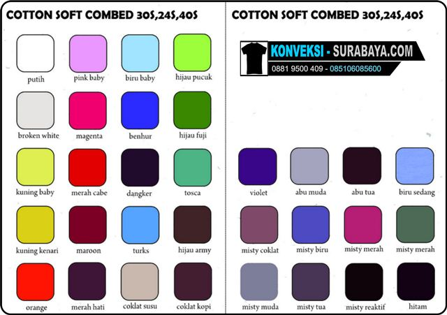 cotton soft combed 30s,24s,40s