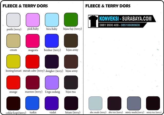 fleece & terry dors