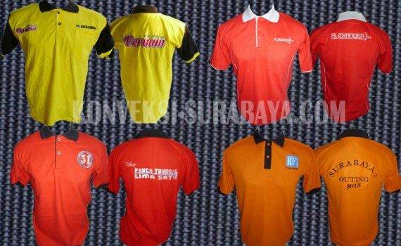 desain kaos polo shirt terbaik surabaya, desain kaos polo shirt kerah promosi