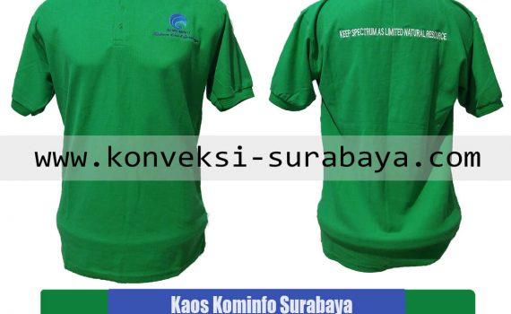 Cetak Grosir Kaos Kerah Bordir Murah Surabaya
