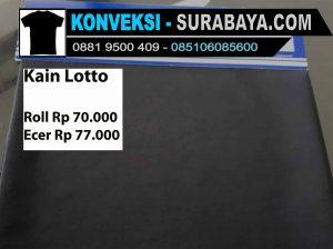kain lotto, harga kain lotto per-kg, kain lotton sport