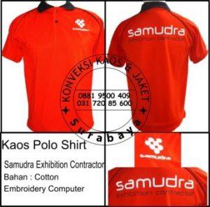 Kaos Polo Shirt  Samudra Exhibition Contractor