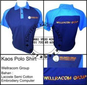 Kaos Polo Shirt Wellracom Group