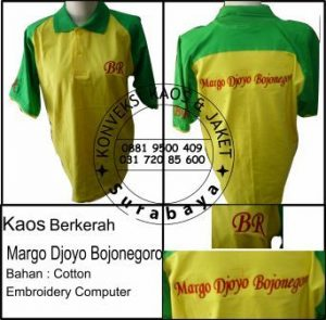 Kaos Berkerah Margo Djoyo Bojonegoro